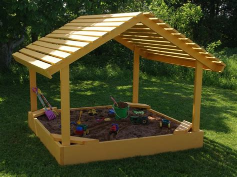 Plans For Toddler Sandbox